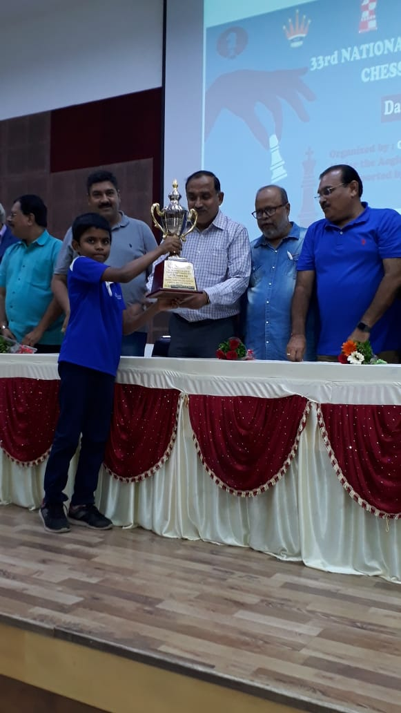 You are currently viewing Congratulations to Arjun for coming second in National under 9 championship!