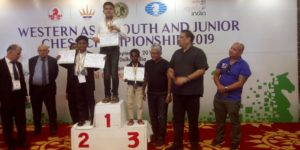 Read more about the article Daakshin wins Silver medal at Western Asia under 10 boys championship 2019!