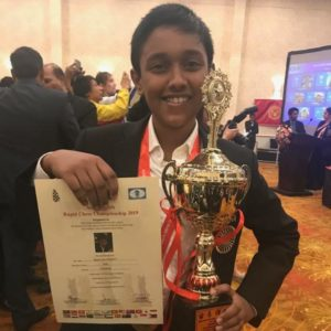 Read more about the article Congratulations to Manish for his maiden IM norm at Riga Open!