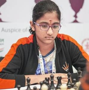 Read more about the article Rakshitta in joint lead at World youth under 14 girls section!