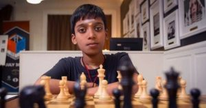 Read more about the article Praggnanandhaa in second position at World youth under 18 open section!