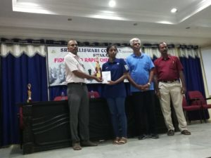Read more about the article Vaishali wins Sivakasi rapid tournament with 7/7 score!