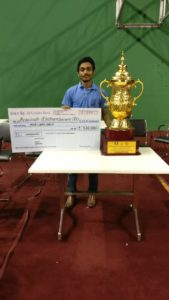 Read more about the article Chessgurukul's Aravindh Chithambaram wins Indian National Championship for second time!