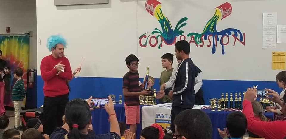 Read more about the article Sarvesh wins 3-5 and second in 4-6 section in Pals Halloween Chesstravaganza – 2019. Denver Colorado.