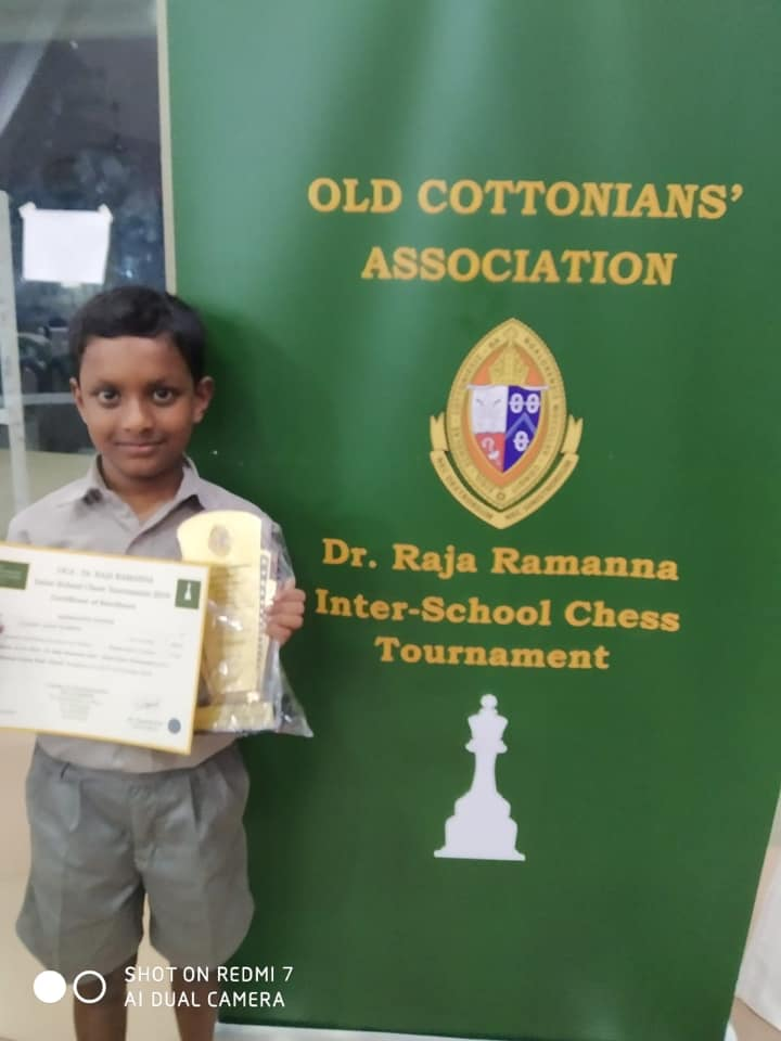 Read more about the article Siddanth wins the OCA Dr. Raja Ramanna Interschool Chess