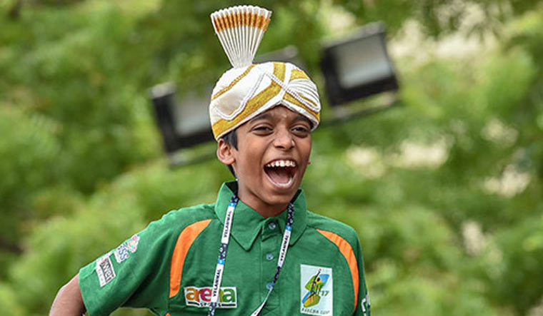 Read more about the article Another Milestone for Praggu – Times Sport
