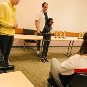 Read more about the article Congratulations to Prangya for winning under 1600 category and increasing 179 points in Boeblingen open!