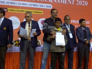 Read more about the article Congratulations to 13 year old Pranesh for his maiden GM norm at Delhi open!