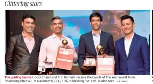 Read more about the article GM RB Ramesh wins Sportstar Aces 2020 Coach of the Year Award