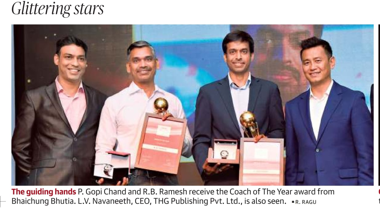 You are currently viewing GM RB Ramesh wins Sportstar Aces 2020 Coach of the Year Award