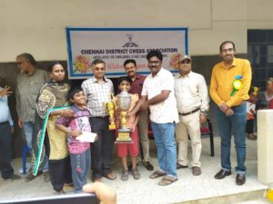 Read more about the article Daakshin wins under 11 Chennai District Championship