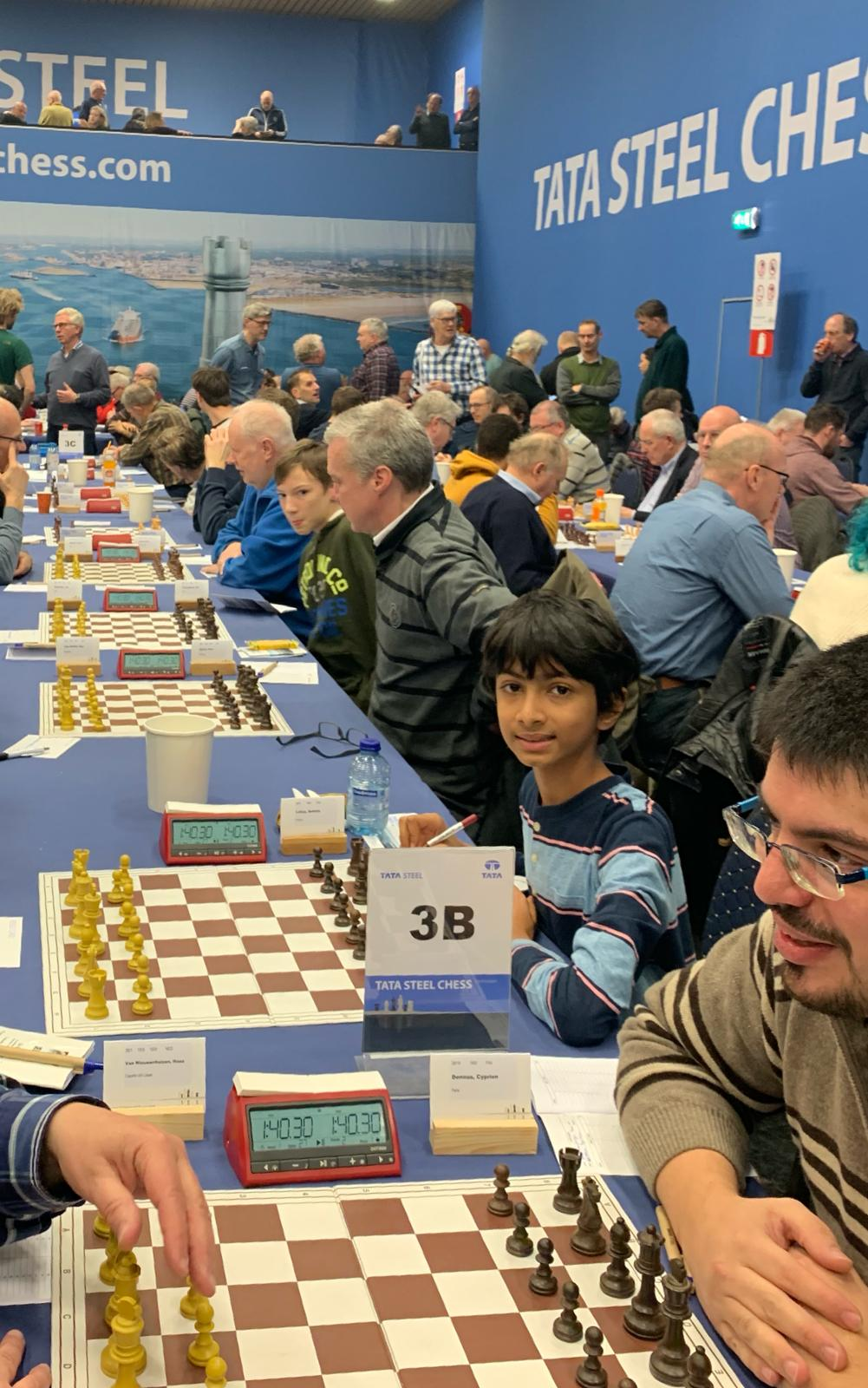 You are currently viewing Sohum Lohia wins a closed tournament at Wijk aan Zee and reaches 2025 at age of 10 years!