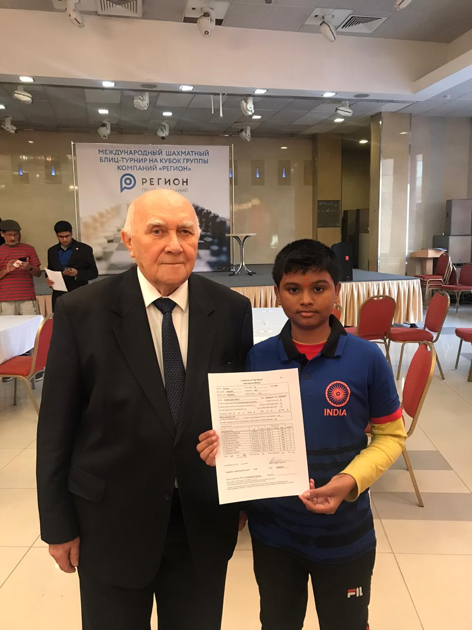 You are currently viewing Congratulations Pranesh for becoming an IM in Aeroflot open