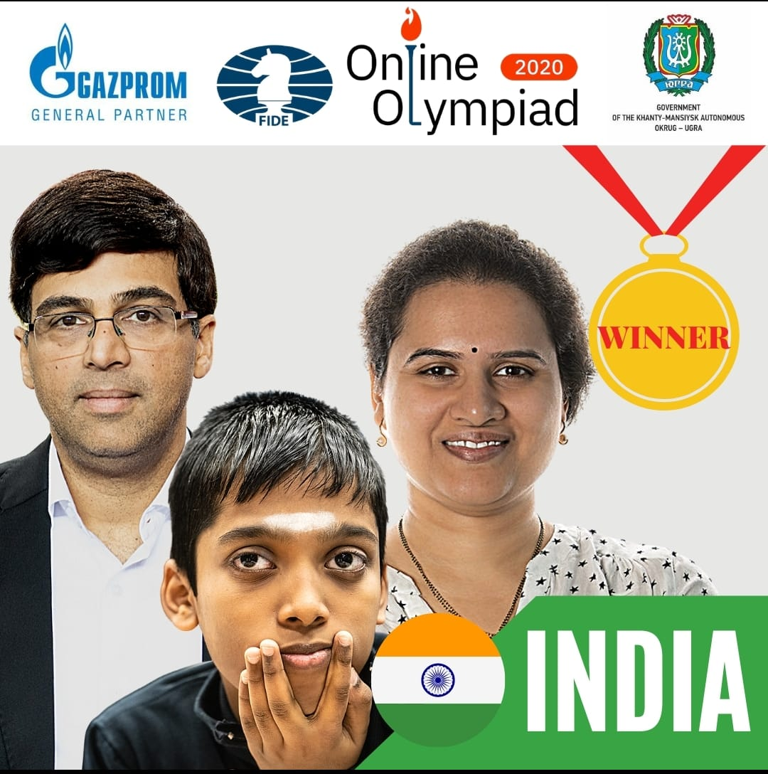 You are currently viewing Team India is co-champion in Online Olympiad 2020