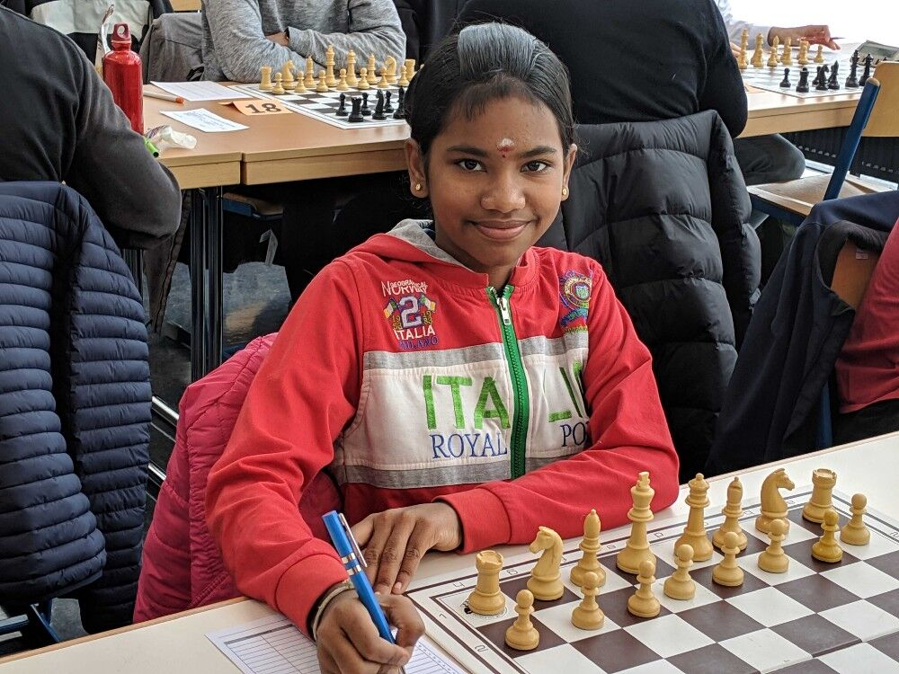 Read more about the article WFM Savitha Shri won Gold in the World Continental Online Youth Team Cup