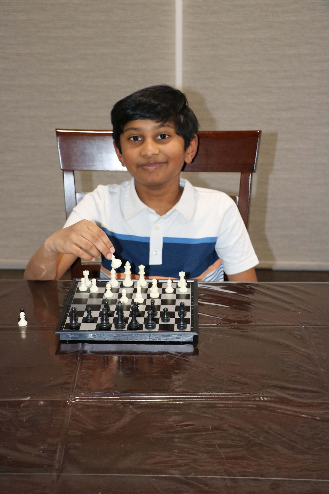 Read more about the article Dhruv wins the 5th Chess Gurukul Global U500 for US Students