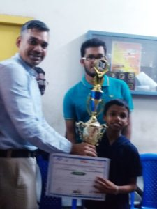 Read more about the article Pranav won the 6th CG Advanced for Indian students