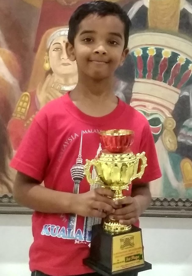 You are currently viewing Prem won the 9th Chess Gurukul Advanced for Indian Students