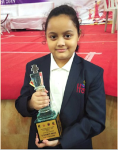 Read more about the article Arshiya Das wins the Bal Puraskar 2021