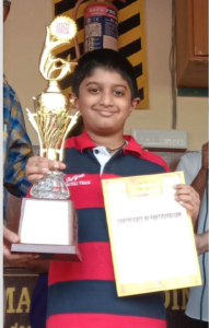 Read more about the article Sanchith won the 3rd CG Advanced for Indian students