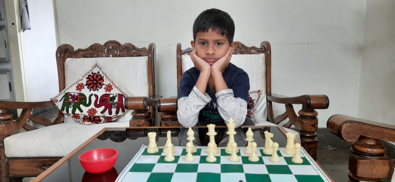 You are currently viewing Abhinav Clinched the 9th Chess Gurukul Global Inter for US Students